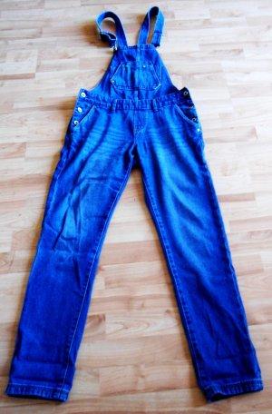 Bequeme Latzhose aus Jeans