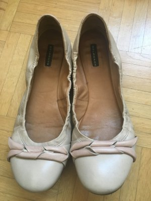 Bequeme Leder Ballerinas