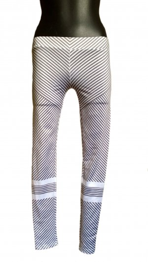 Trackies white-grey polyester