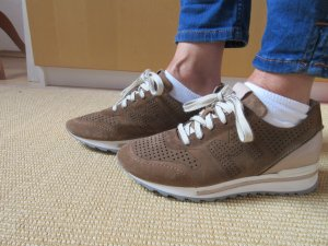 Maripé Sneakers met veters veelkleurig Suede