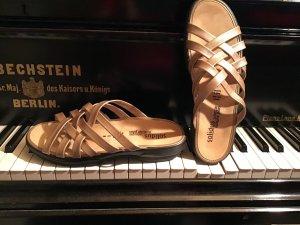 SOLUDOS Comfortabele sandalen goud-brons