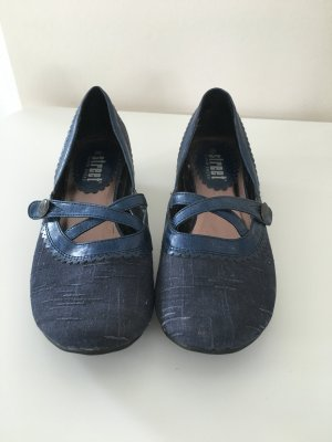 Bequeme Pumps in blau