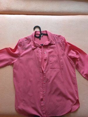 Bequeme rosa Bluse