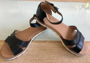 Bequeme Sandalen aus Echtleder