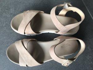Nero Giardini Sandals beige suede