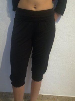 Bequeme Schlabberhose in schwarz