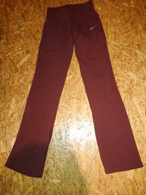 Reebok Pantalon de sport rouge carmin