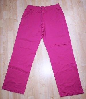Sportbroek roze-violet Katoen