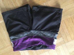 Bequeme Yoga Shorts schwarz, H&M, XS