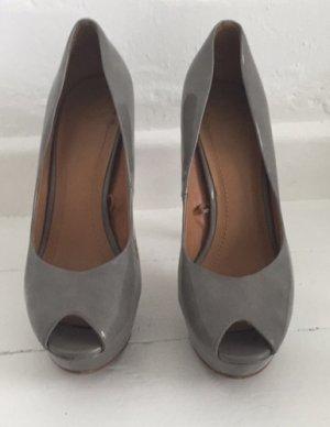 Bequeme Zara Peep Toes in Grauton Gr 40
