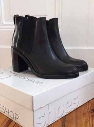 Bequemer Ankle Boot von Topshop #stylish #topshop #black #blogger