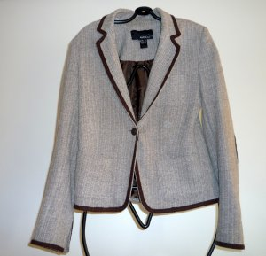 bequemer Blazer in Tweed Optik
