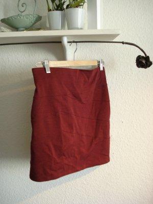 Amisu Minifalda carmín Poliéster