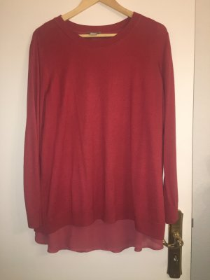 H&M Sweater karmijn