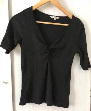 Bequemes Clockhouse Basic Shirt mit nettem Ausschnitt