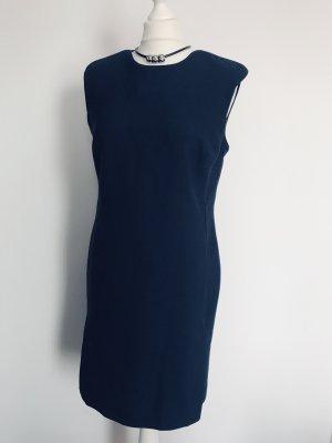 Autograph Sheath Dress dark blue