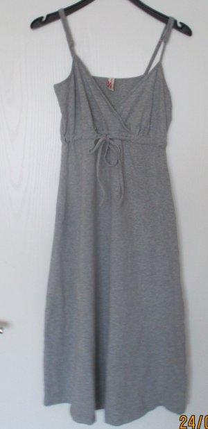 s.Oliver T-shirt jurk lichtgrijs Gemengd weefsel