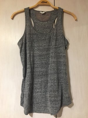 Basic Top dark grey