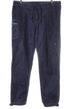 Bergans of Norway Cargo Pants dark blue material mix look