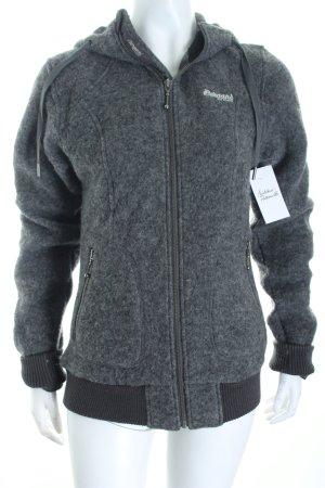 Bergans of Norway Kapuzenjacke grau sportlicher Stil
