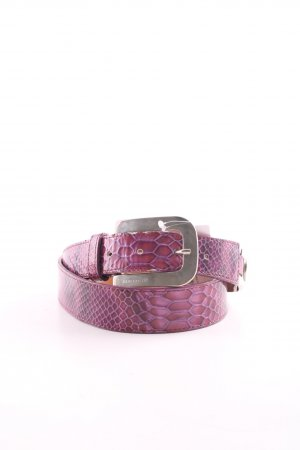 Bergé Hip Belt lilac animal pattern casual look