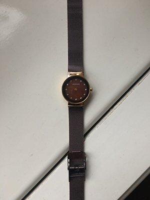 Bering Horloge met metalen riempje veelkleurig Edelstaal