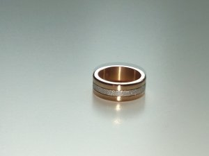 Bering Ring Artic Symphony rosegold mit Wechselmodul