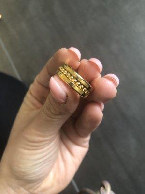 Bering Anillo de oro color oro