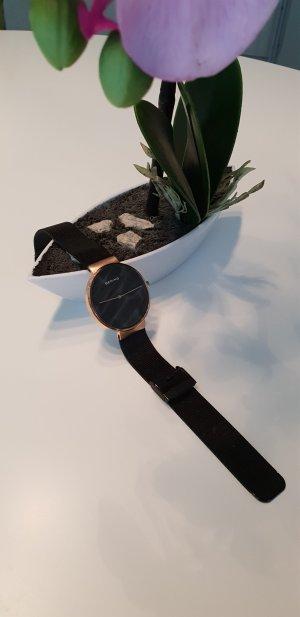 Bering Orologio sabbia-nero Acciaio pregiato