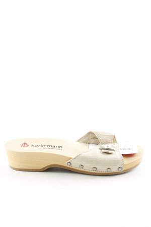 Berkemann Sandalo con cinturino bianco sporco stile casual