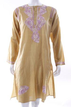Tunic multicolored silk
