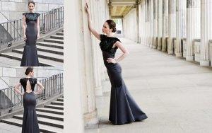 Berlin Fashion Week - Original Jasmin Erbas Couture Kleid Gr. 36/38