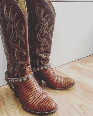 Boots western multicolore