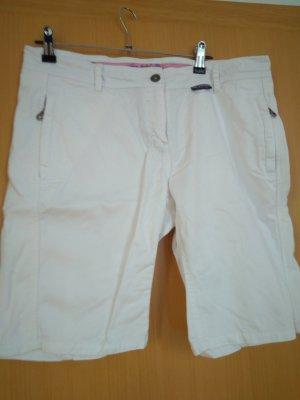 Soccx Pantalone Capri bianco