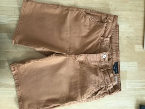 Marc O'Polo Denim Shorts dark orange cotton