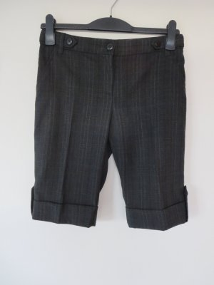 Bermuda Shorts anthrazit Streifen Business
