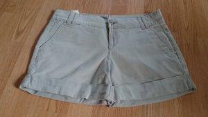 Bermuda Shorts Hose kurz beige creme von Benetton Gr. 36