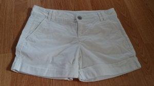 Bermuda Shorts Hose kurz weiß von Benetton Gr. 36/38