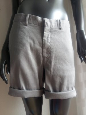 Asos Bermudas light grey linen