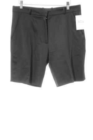 Bernadett Penkov Pantalón corto de talle alto negro estilo «business»