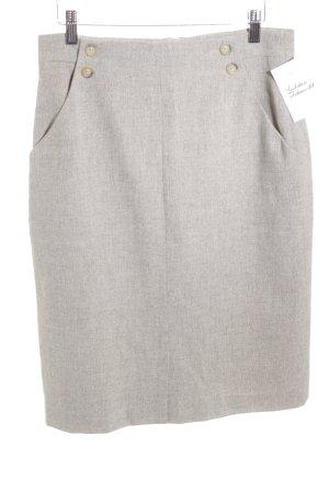 Bernd Berger Pencil Skirt beige-cream flecked business style