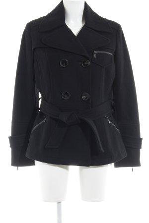 Bernd Berger Pea Jacket black casual look
