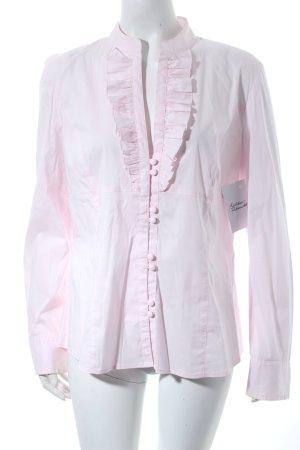 Bernd Berger Blusa-camisa rosa estilo clásico
