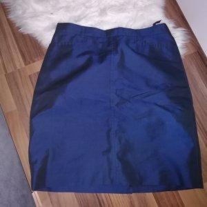 Bernd Berger High Waist Skirt dark blue