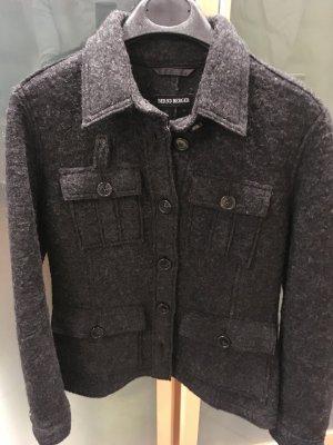 Bernd Berger Wool Jacket anthracite