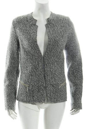 Bernd Berger Short Jacket grey flecked classic style