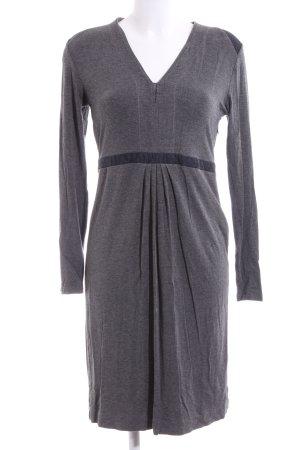 Bernd Berger Longsleeve Dress light grey flecked casual look
