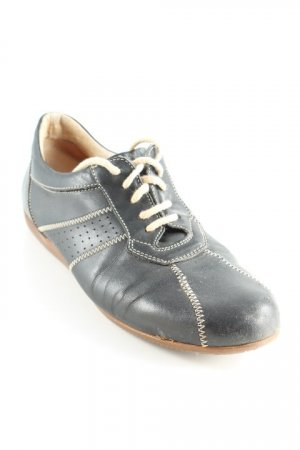 Bernd Berger Zapatos brogue negro-crema look casual