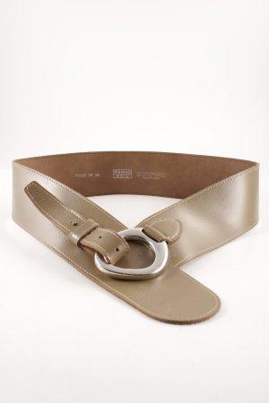 Bernd Götz Cintura di pelle marrone chiaro-color cammello stile casual