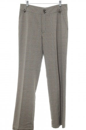 berri Pleated Trousers glen check pattern Brit look